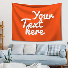 Custom Text Tapestry Wall Art Home Decoration
