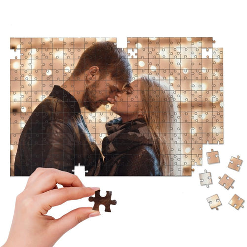 Custom Photo Puzzle Gift for Her 35-1000 Pieces