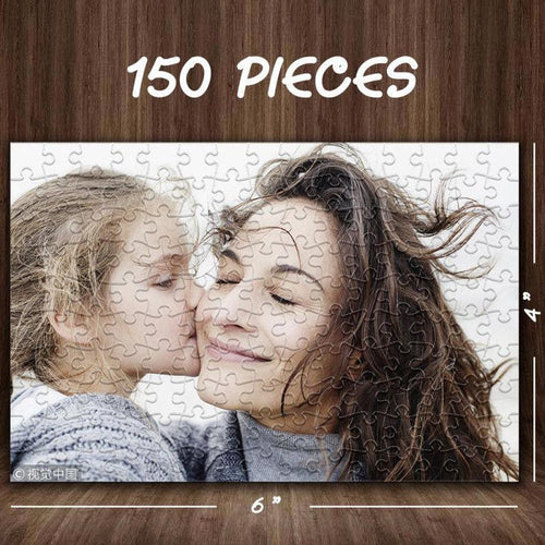 Custom Photo Jigsaw Puzzle Gift for Her 35-1000 Pieces