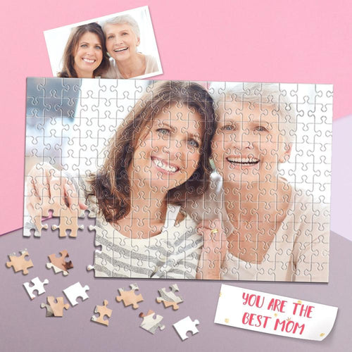 Father's Day Gift Personalized Photo Puzzle DIY Picture Puzzle 35-1000 Pieces Photo Puzzle