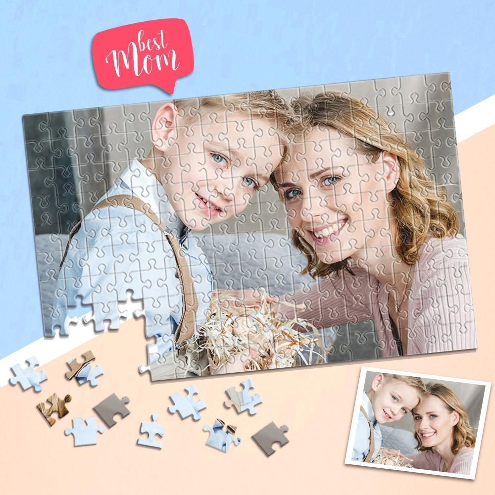 Gift for Mom Personalized Photo Puzzle DIY Picture Puzzle 35-1000 Pieces Photo Puzzle