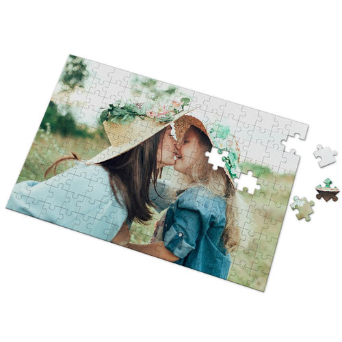 Personalized Photo Puzzle DIY Picture Puzzle for Mom 35-1000 Pieces Photo Puzzle