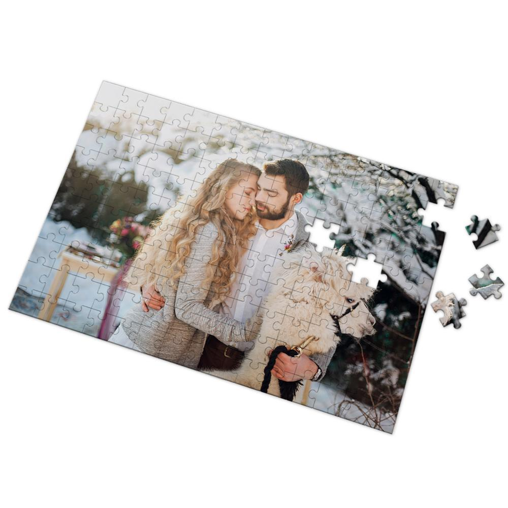 Custom Photo Puzzle Gifts for Her or Him 35-1000 Pieces
