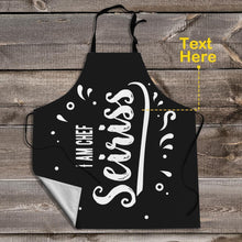 Personalized Apron Custom Text Apron Unique Gifts I am Chef