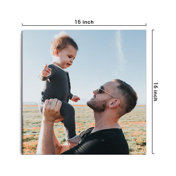 Custom Canvas Prints Wall Decor with Your Photo