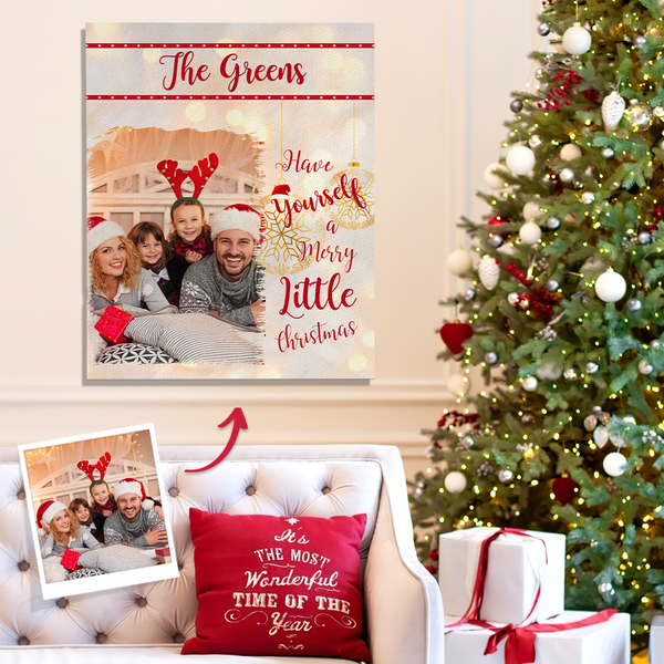 Custom Engraved Photo Canvas Design Your Unique Gift