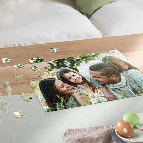 Custom Photo Jigsaw Puzzle Perfect Stay At Home Gifts 35-1000 Pieces