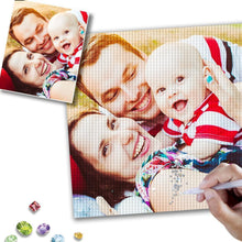 Gifts for Family Custom Diamond Painting DIY 5D Diamond Art