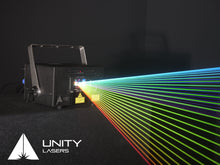 Load image into Gallery viewer, Unity ELITE 5 ILDA full-colour RGB laser beams_1