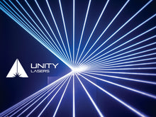 Load image into Gallery viewer, Unity ELITE 5 ILDA full-colour RGB laser beams_2