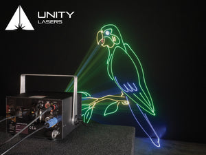 Unity ELITE 5 ILDA full-colour RGB laser graphics and abstracts_3
