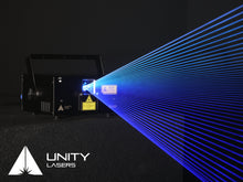 Load image into Gallery viewer, Unity RAW 1.7 blue laser beams_3