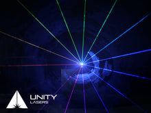Load image into Gallery viewer, Unity RAW 3 full-colour RGB laser beams_1