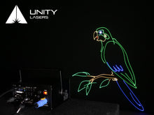 Load image into Gallery viewer, Unity RAW 5 full-colour RGB laser graphics and abstracts_3