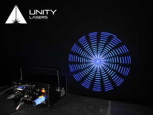 Unity RAW 1.7 laser graphics abstract_1