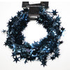 Wired Star Garland Navy