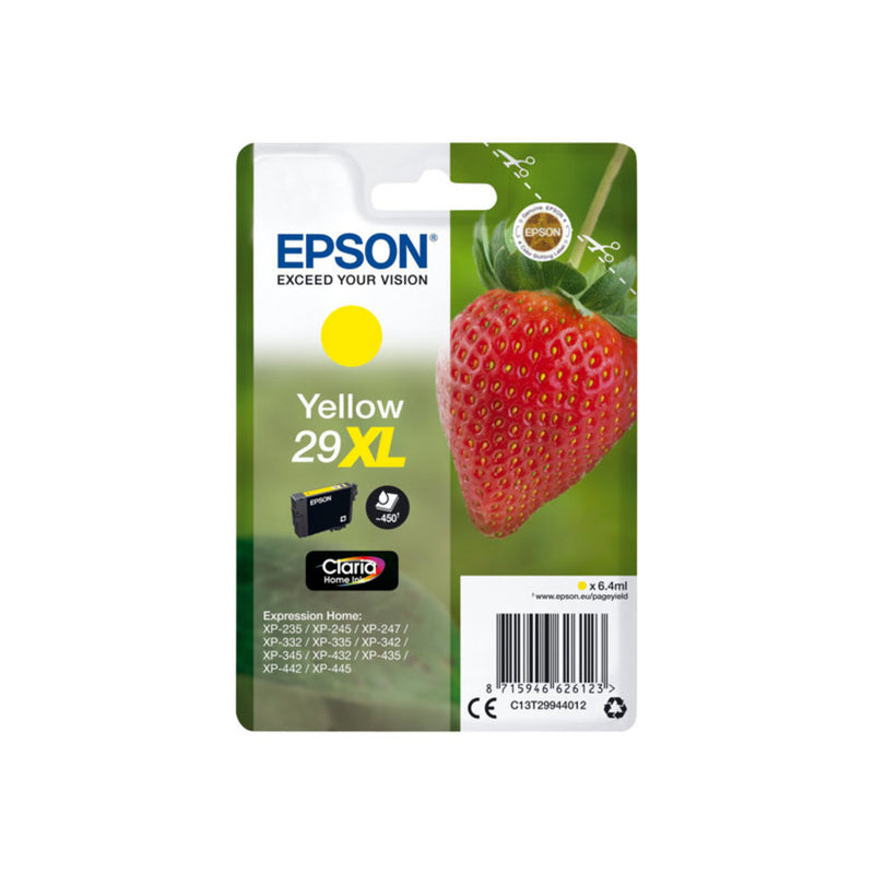 Epson 29XL Yellow Ink - Strawberry