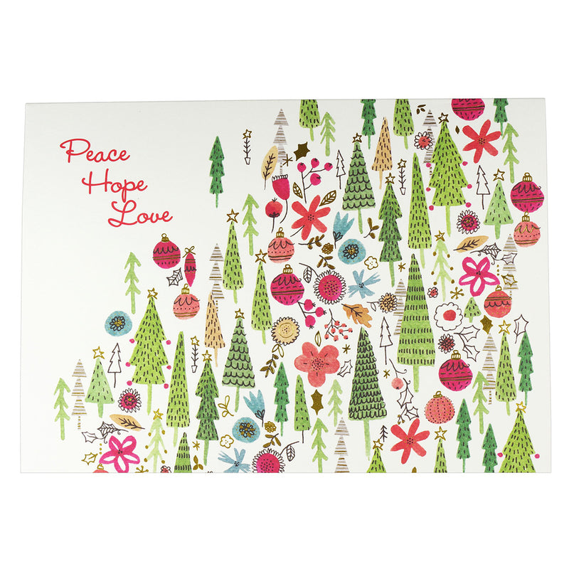PP 20 Deluxe Boxed Christmas Cards Merry Medley