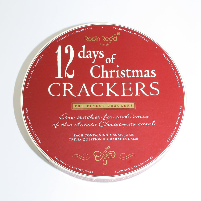 Pack of 12 Christmas Crackers with Charades
