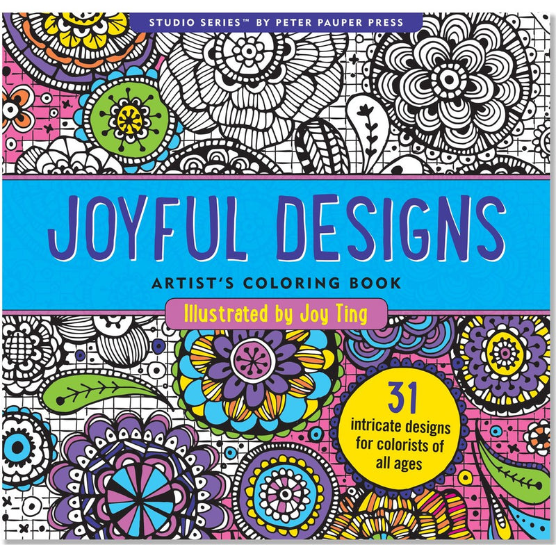 Joyful Designs Studio Art Colouring Book