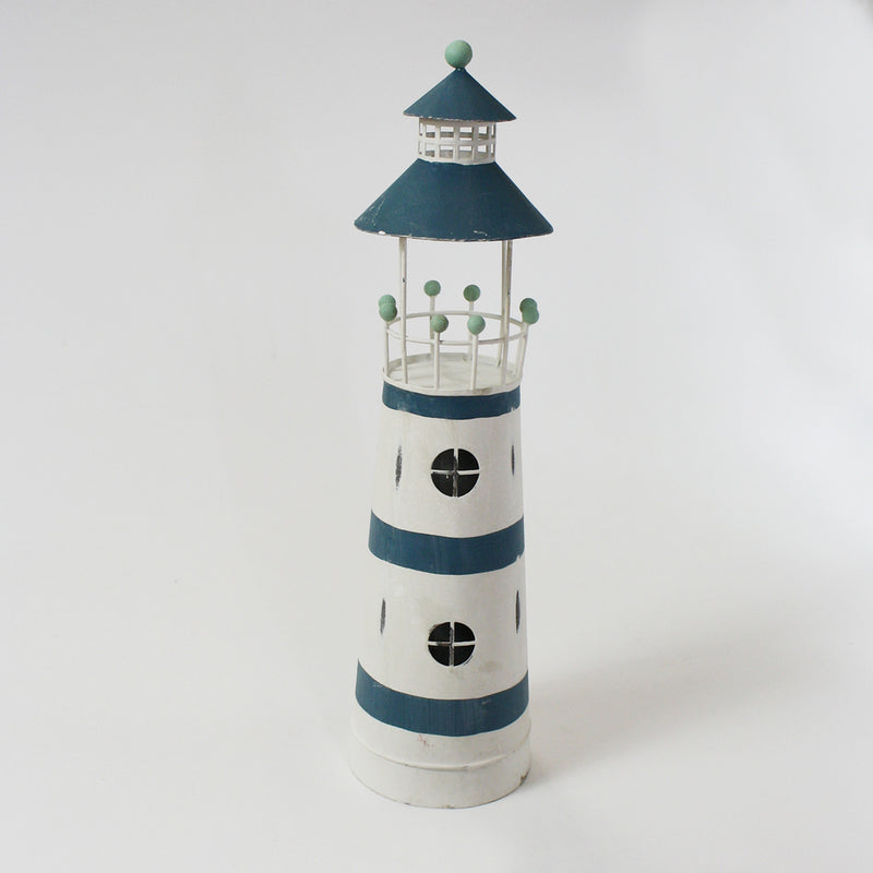 Blue/White Lighthouse