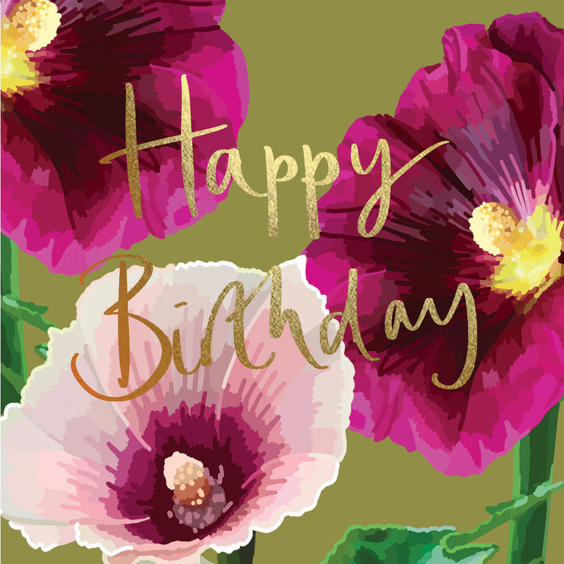 SK Happy Birthday Card