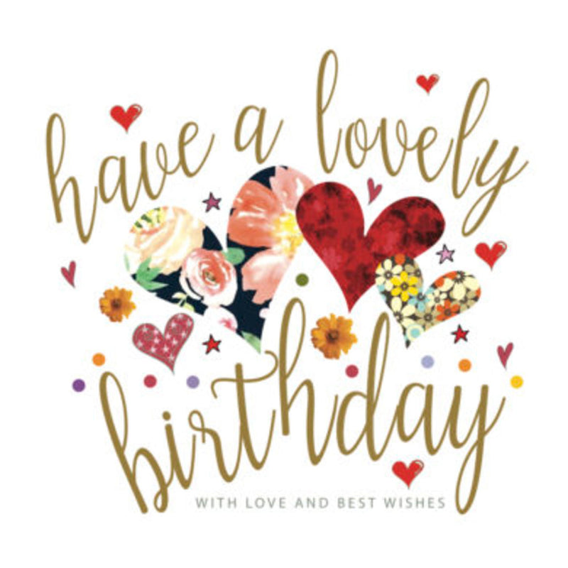 Birthday card - Lovely - Jazz