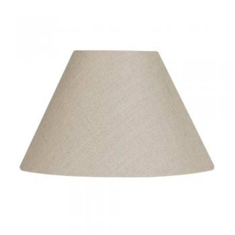 "12"" Linen Coolie Shade Calico"