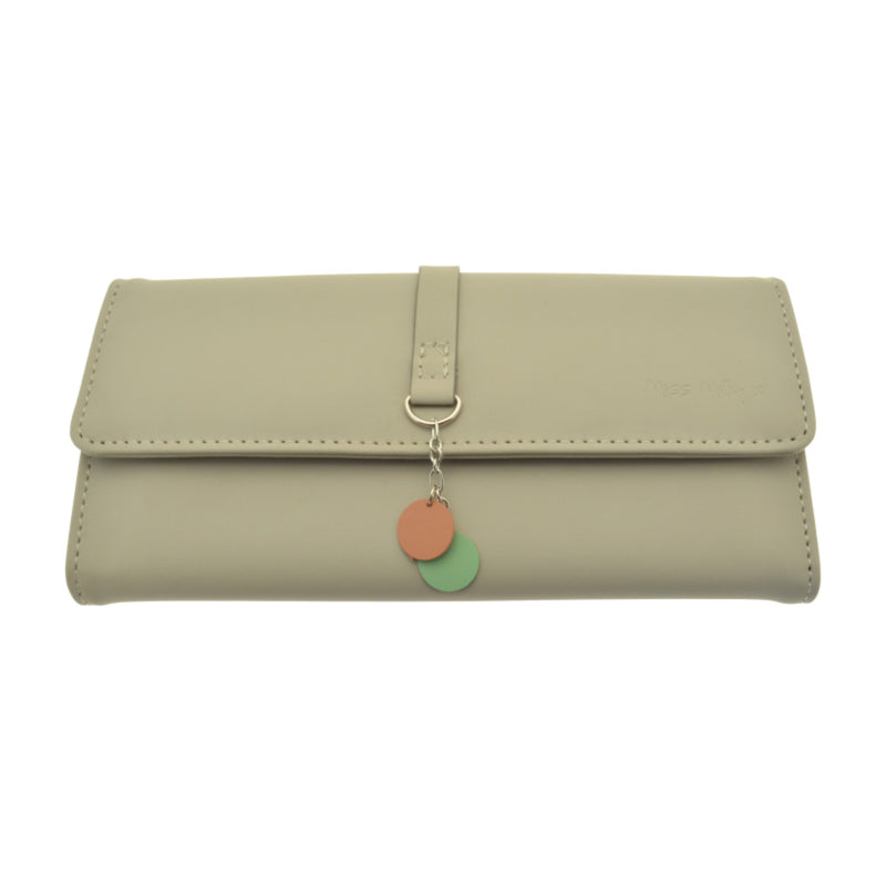 Miss Milly Grey Dangle Purse