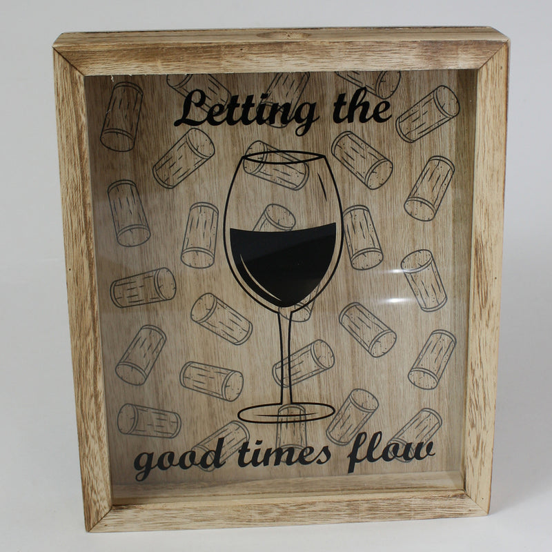 Let the Good Times Flow Cork Collection Box