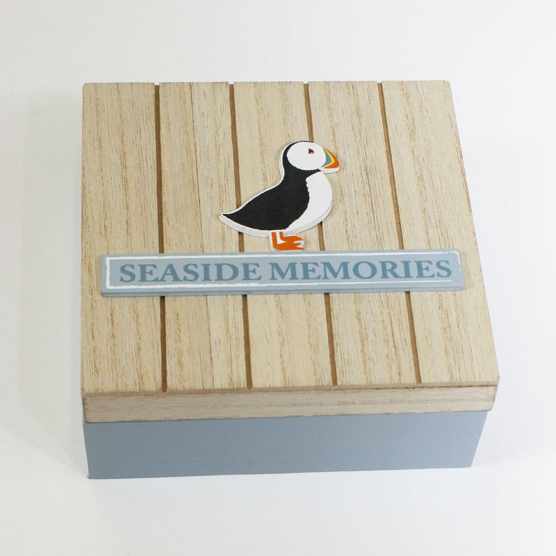 Puffin Seaside Memories Box
