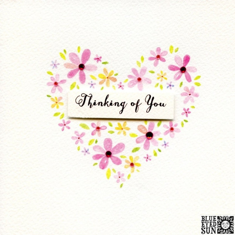 Thinking of You Card - Charming