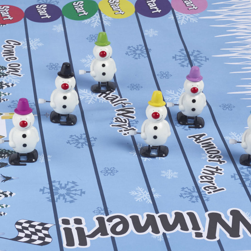 Pack of 6 Racing Snowman Crackers
