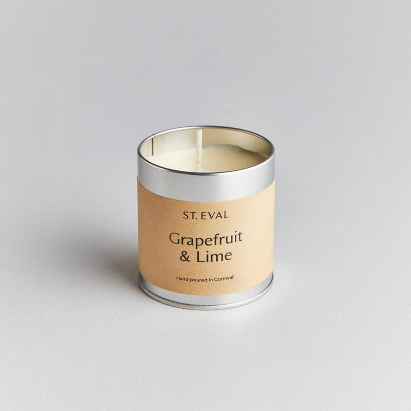 St Eval Grapefruit and Lime Candle Tin