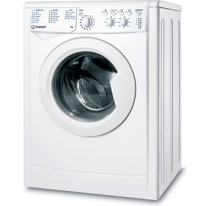 Indesit IWC71252WUKN Washing Machine 7kg, 1200 White