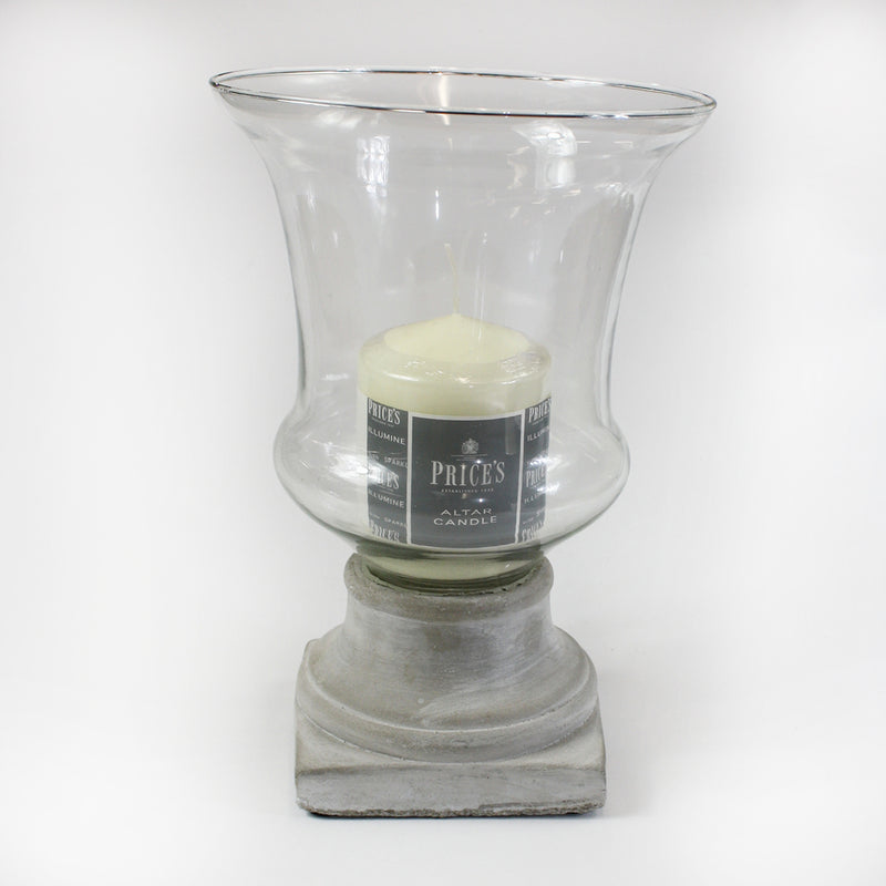 Large Hurricane Candle Holder