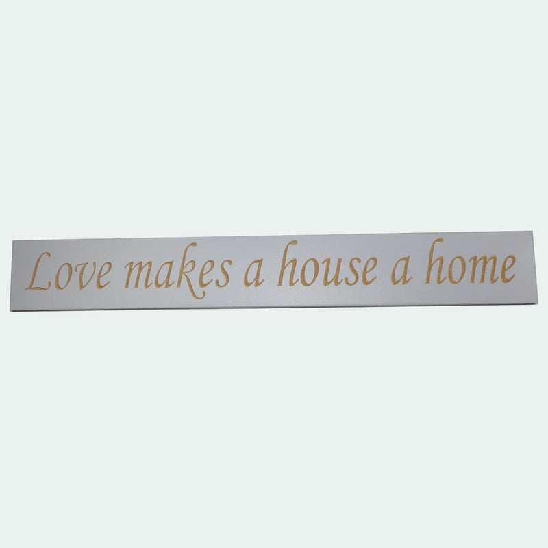 Large Engraved Sign- Love