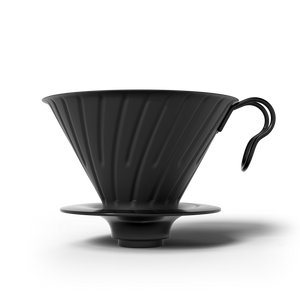 Hario V60 Metal Coffee Dripper Matt Black 02