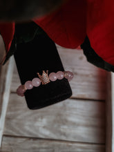 Load image into Gallery viewer, Rose Quartz Crown