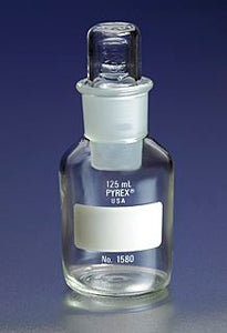 PYREX 125mL Wide Mouth Reagent Storage Bottles wit