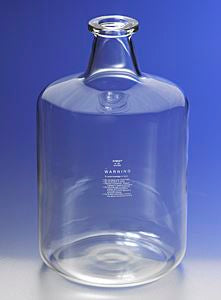 PYREX 9.5L Solution Bottle with Tooled Neck