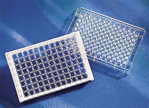 DNA-BIND 96 Well Clear Polystyrene Microplate with