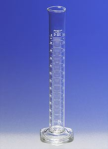 PYREX Double Metric Scale, 25mL Class A Graduated
