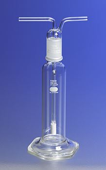 31770-125EC PYREX 125mL Gas Washing Bottle with Extra Coarse F