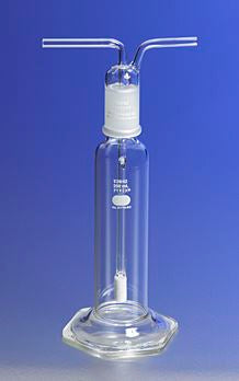 31770-500C PYREX 500mL Gas Washing Bottle with Coarse Fritted