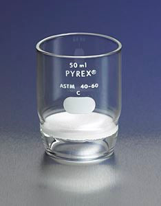 32940-50M PYREX 50mL High Form Gooch Crucible with 40mm Di