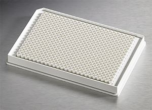 3824 Low Volume 384 Well White Flat Bottom Polystyrene
