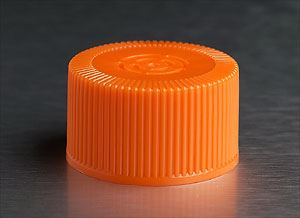 3968 CellSTACK 33mm HDPE Cap, Vent Cap with 0.2um vent,