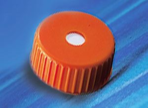431339 48mm Polypropylene Vent Cap for 2L Polycarbonate E