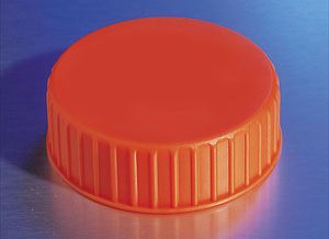 431364 48mm Polypropylene Cap for 2L Polycarbonate Erlenm